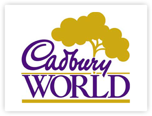 Cadbury World opened in 1990.