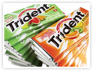 Adam's brands including Trident became part of the Cadbury Schweppes portfolio.