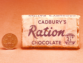 Cadbury's Ration Chocolate.