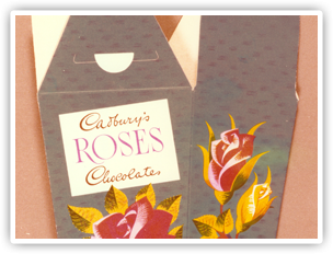Ever wondered how an early TV ad was made? We found this footage in the Cadbury archive showing the making of an early Roses TV ad.